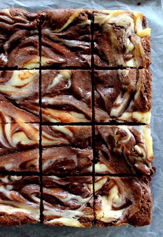 Wicked sweet kitchen: suklaa-juustokakku browniet
