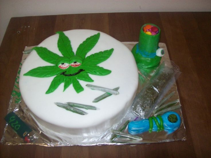 30 best Marijuana cakes images on Pinterest Birthday cakes Weed