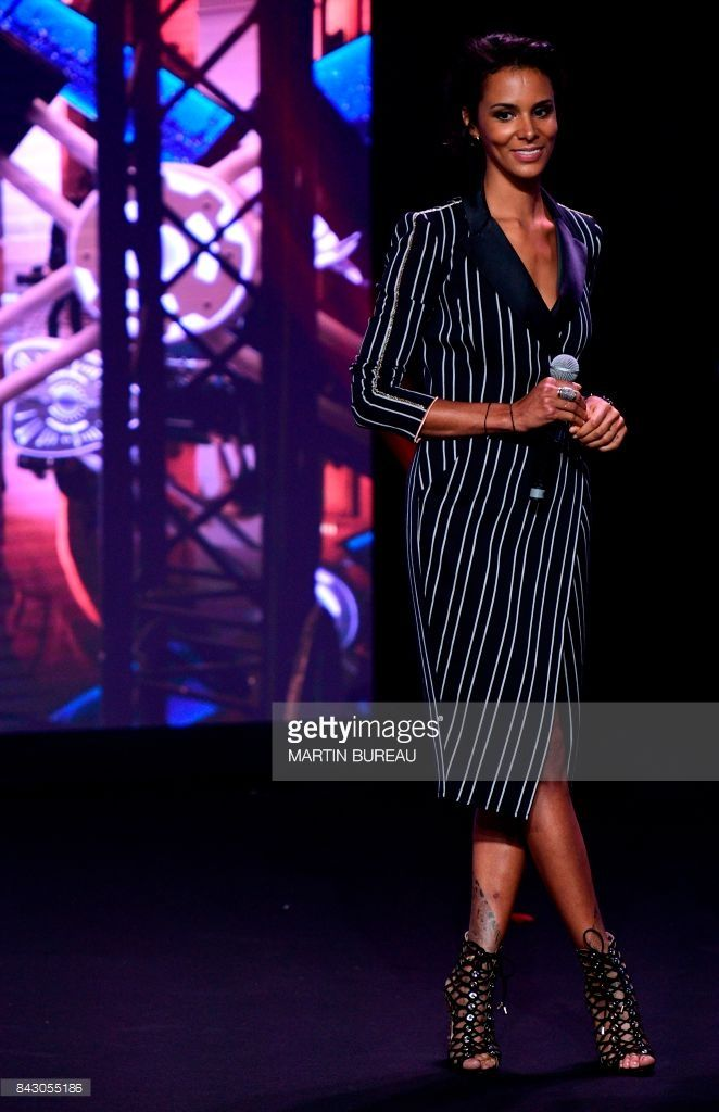 News Photo : French singer Shy'm attends a M6 group press...