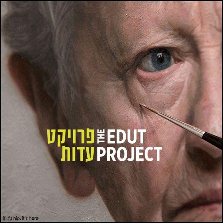 Portraits of Holocaust Survivors for The Edut Project
