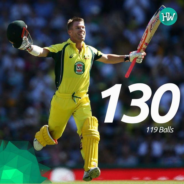 David Warner and 100s are getting synonymous now! David the Wonder Warner! #AUSvPAK #AUS #PAK #cricket