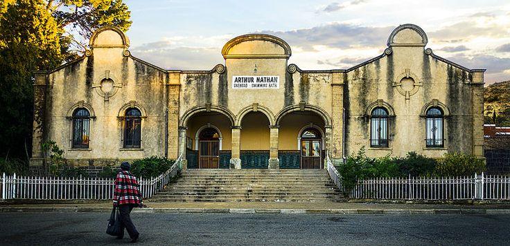 Bloemfontein, Free State, South Africa. Arthur Nathan Swimming pool
