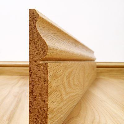 Ogee Solid European Oak Skirting Board - Skirting Boards - Skirtings  Architraves