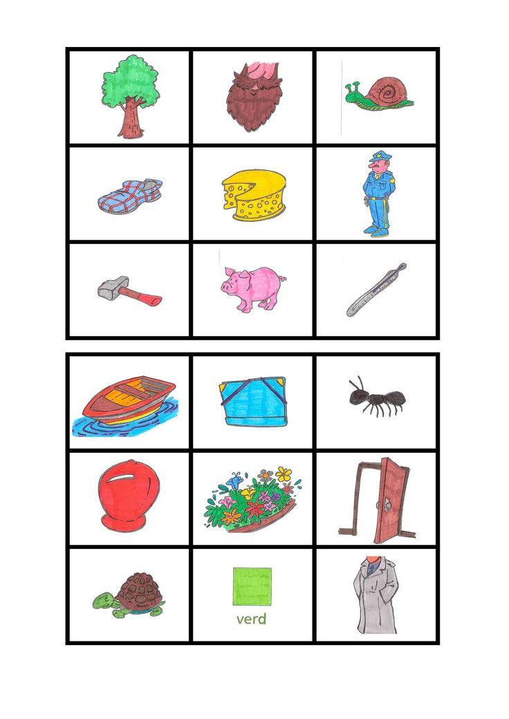 LOTO R INVERSA. Imatges i paraules