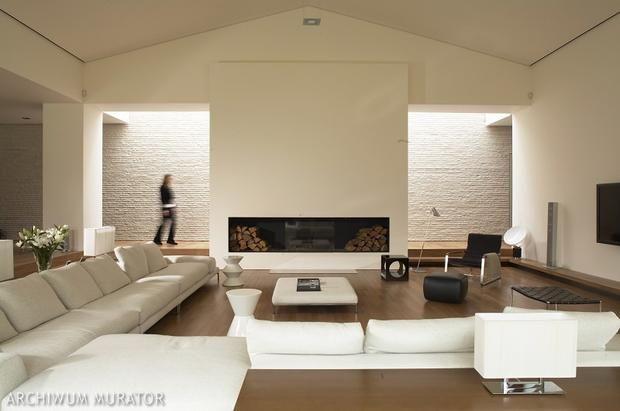 kominek, przestrzeń, podłoga