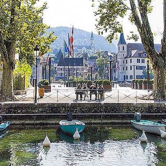Annecy and its Lake | place de la mairie #annecy #annecylake #france #tott #town #lake #lac #beautiful #veilleville #riviere #rhonealpes #alpes #oldtown #montagnes #mountains #oldtownannecy #lacdannecy #summer2016 #summer16 #summer #thiou #hautesavoie #boat  #relax #swan #cygne