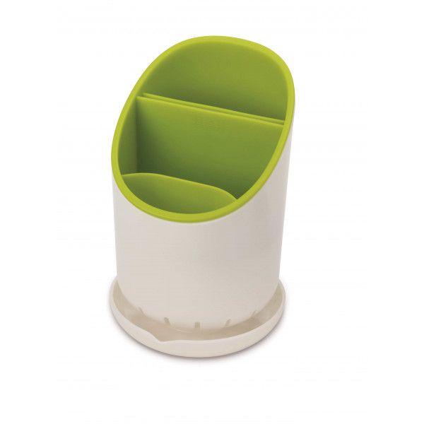 Ambiance & Styles | Egouttoir à couverts blanc/vert #ambiance #style #cuisine #pratique #green