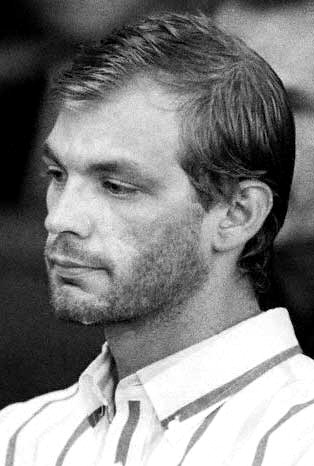 Jeffrey Dahmer - born in Wisconsin, lived in Bath, Ohio - murdered 17 men and boys between 1978 and 1991