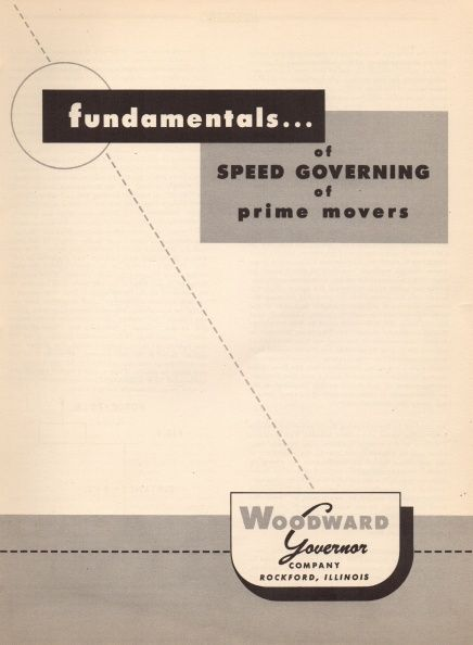 Best Operation And Maintenance Manuals For Hydraulic Governors