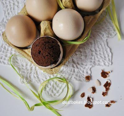 Czekoladowe jajeczka w skorupkach
