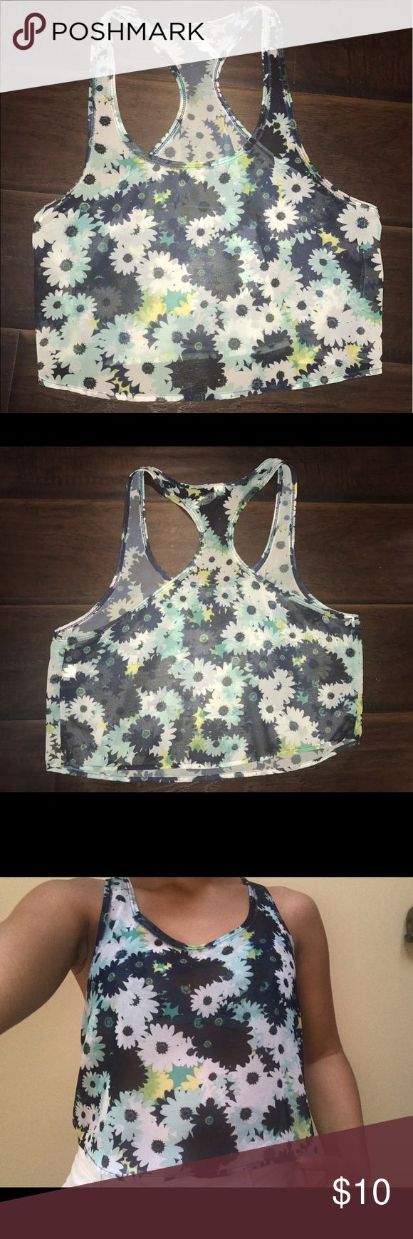 Floral Pattern Sheet Bethany Mota Shirt Sheer Floral Pattern. From the Bethany Mota Collection at Aeropostale. Fantastic condition. Super cute for the summer! Tops