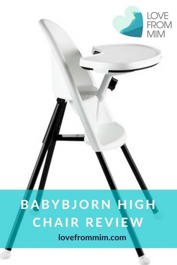 fac2070a6a9 BabyBjorn High Chair Review - a compact high chair for babies and the best baby  high chair we have used!  HighChair