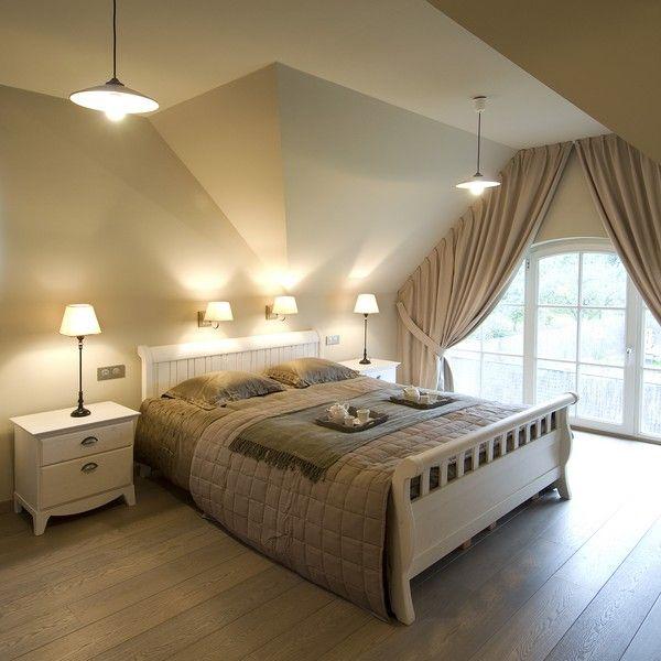 25 best ideas about landelijke slaapkamers op pinterest rustieke slaapkamers kleine - Slaapkamer met zichtbare balken ...