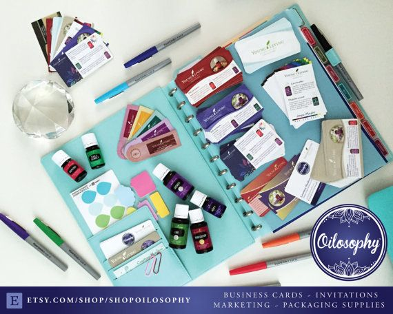 Young Living Business Cards - The Four Year Career - Classic - Design & Printing!