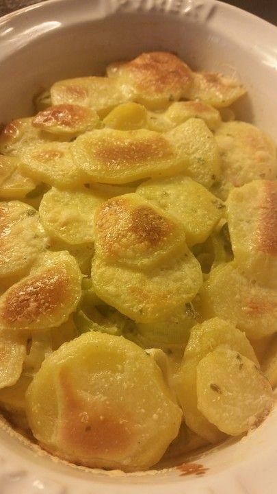 Chefkoch.de Rezept: Kartoffel - Lauch - Gratin