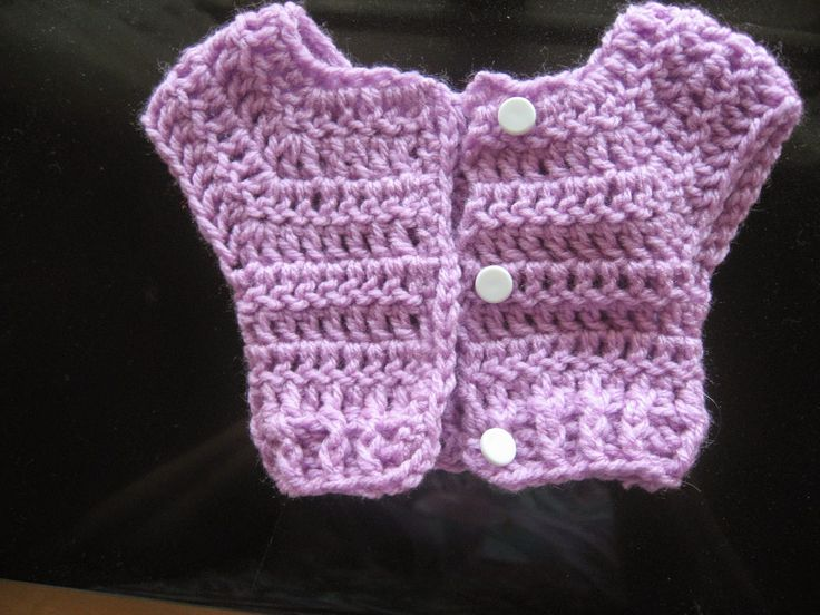Brenda's Bric-a-Brac- free pattern for sweater for 18 inch dolls