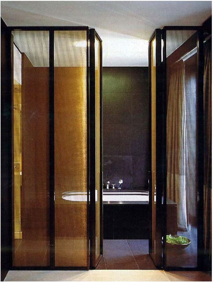 a sheer stunner + seductive black tiling