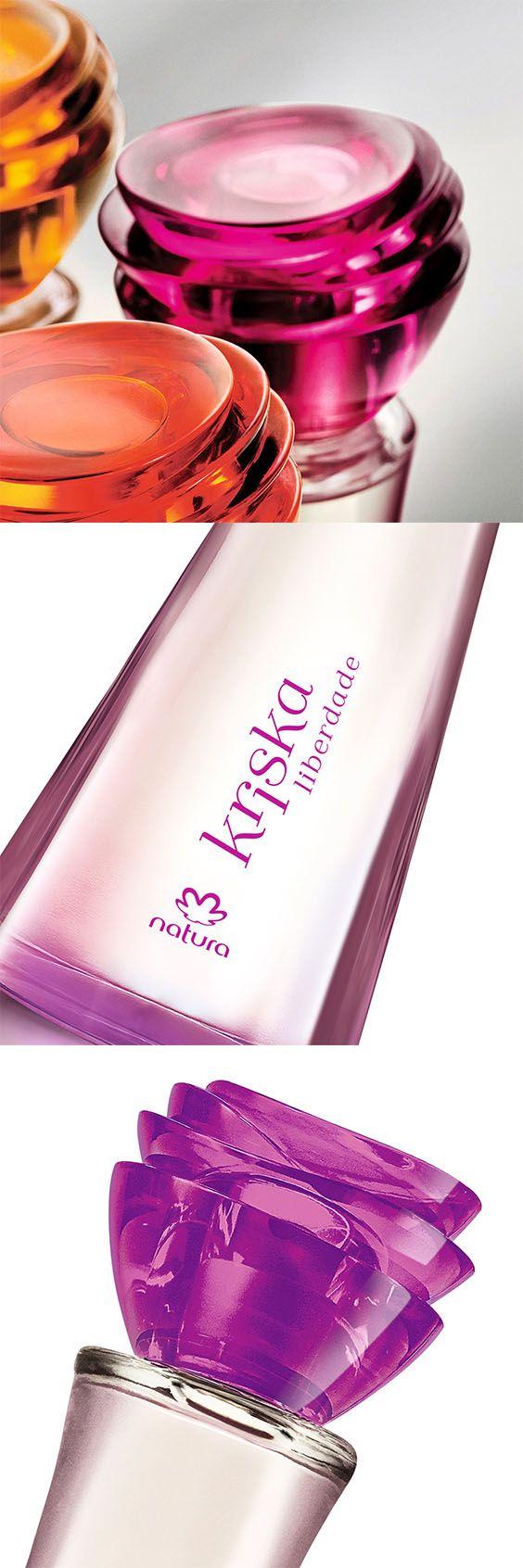 Perfume Kriska Liberdade Natura -  Imagine uma colônia versátil que dá a você a liberdade de ser quem é. Com pomelo rosa e fragrância floral e refrescante.