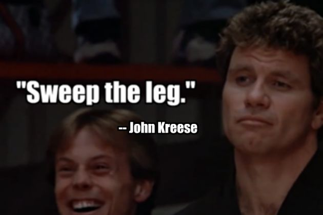 John Kreese Quotes: The 50 All-Time Greatest Sports Movie Quotes