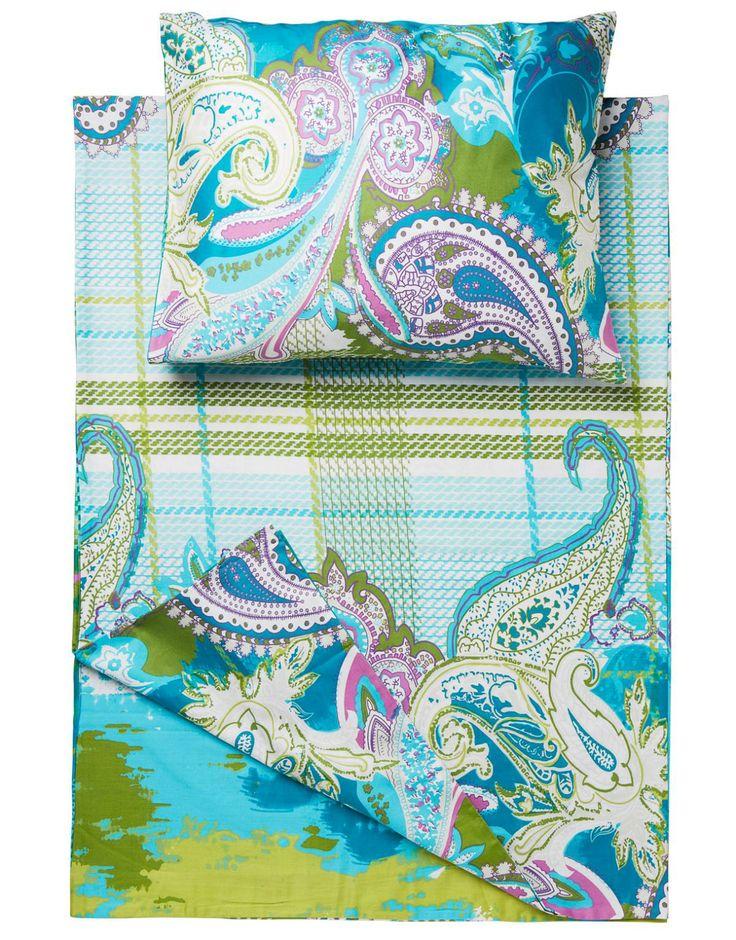PAISLEY sängkläder turquoise | Various | Various Interior | Interior | INDISKA Shop Online