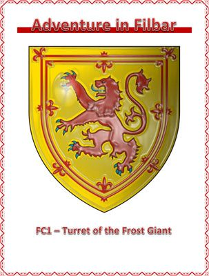 FC1 - Turret of the Frost Giant is a free role playing game supplement from Adventures in Filbar. #RPG