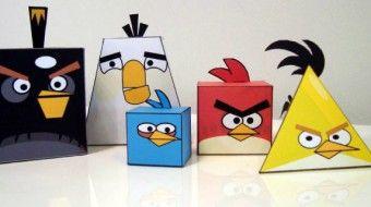 Papertoys Angry Birds. Téléchargez gratuitement des milliers de jouets et de maquettes en papier en provenance du monde entier. 100% DIY. 100% Fun !