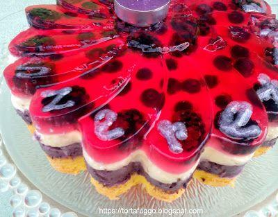 Tortafüggő Marisz: Gyümölcstorta margaréta formában - Margaréta torta