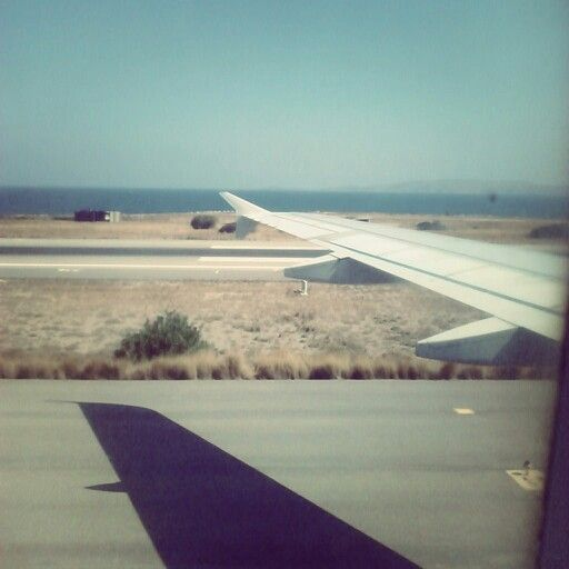 Touchdown by the sea in Crete