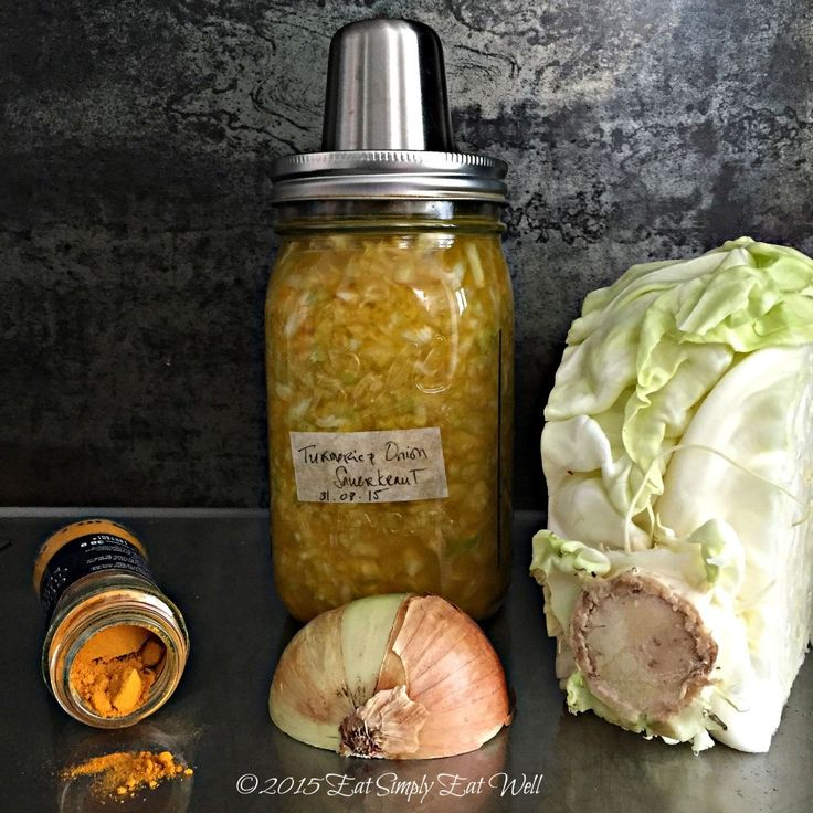 ... Device, and an easy, golden sauerkraut recipe. http:/… | Pinteres