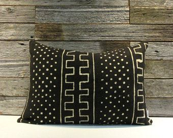 African Mudcloth pillow cover #dwellissimo