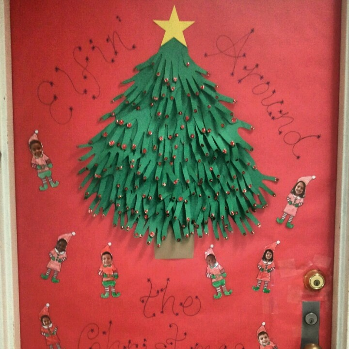 17 Best Images About Classroom Door Decorations Christmas
