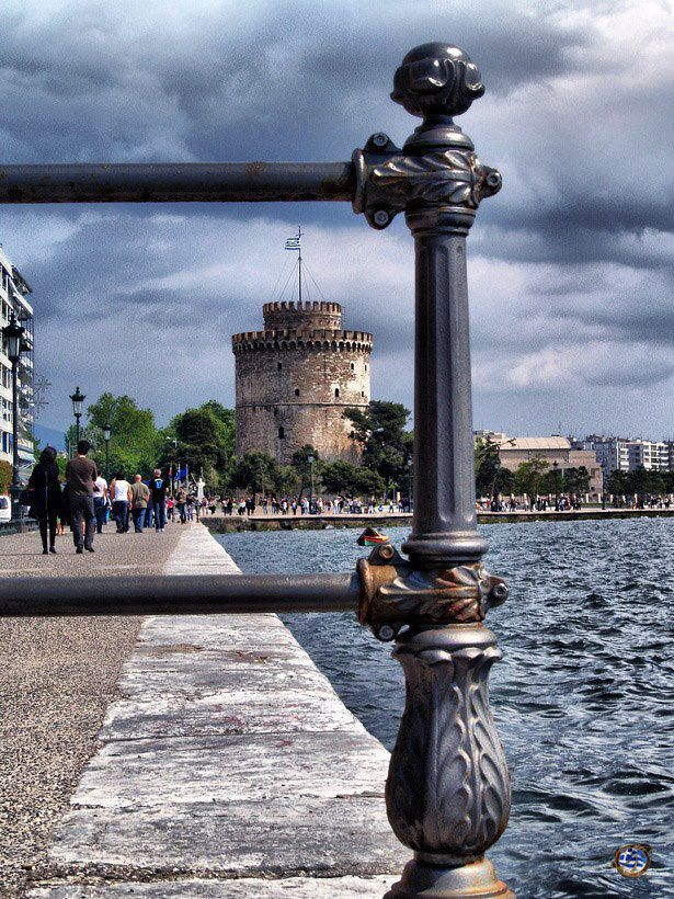 A cloudy day in Thessaloniki