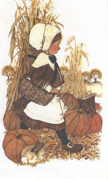 Holly Hobby Pilgram Thanksgiving