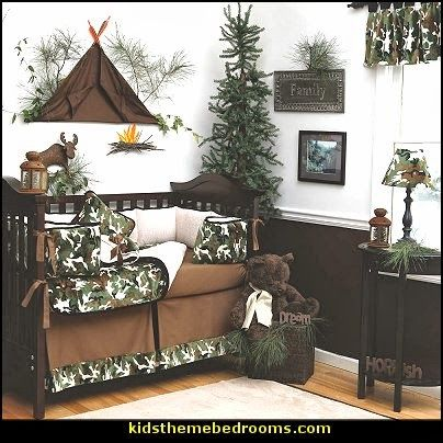 Hunting and fishing boy rooms google search baby boy for Boys army bedroom ideas