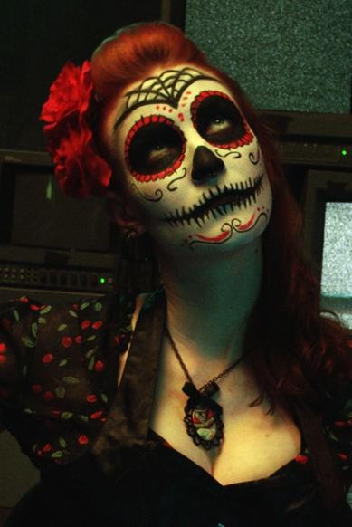 #sugarskull | dia de los muertos makeup | music video