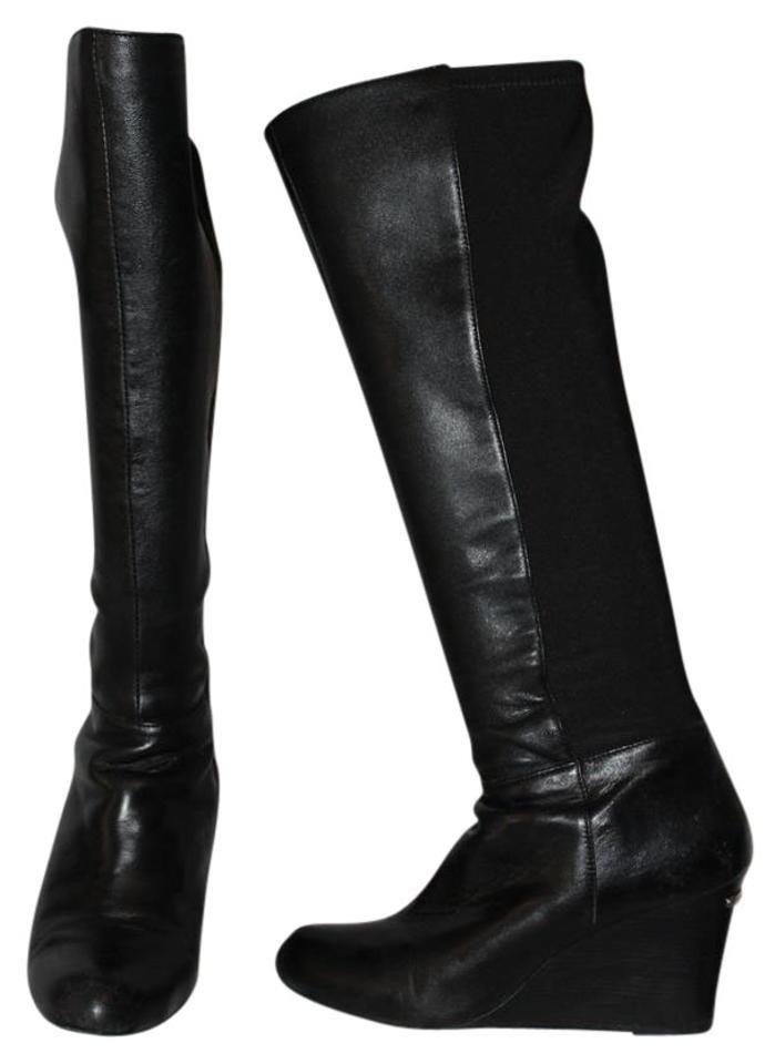 757bd0e978d Michael Kors Black Bromley Wedge Knee-high Boots/Booties Size US 10 Regular  (M, B) - Tradesy