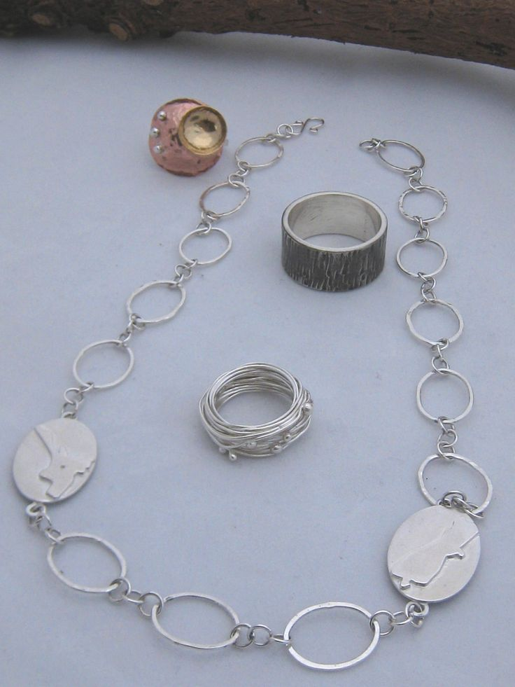 Hot off the bench - handcrafted contemporary New Zealand jewellery. Sterling Silver, Bronze and Copper Jewellery