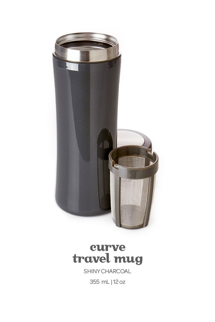 A new classic! A chic, durable travel mug that is 100% leakproof and keeps your tea pipping hot for hours.