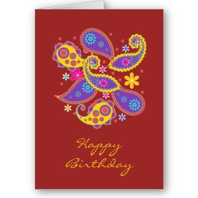 Very unique birthday card