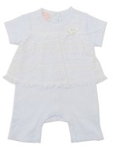 Baby Biscotti English Eyelet Romper