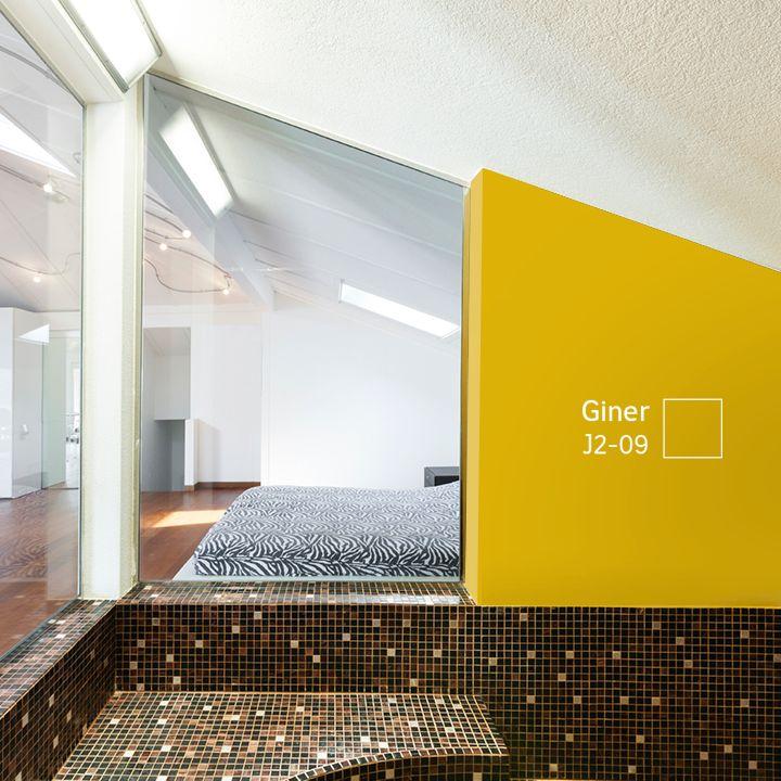 Hay habitaciones que requieren #COLORES que nos hagan sentir frescos y llenos de energía, como éste