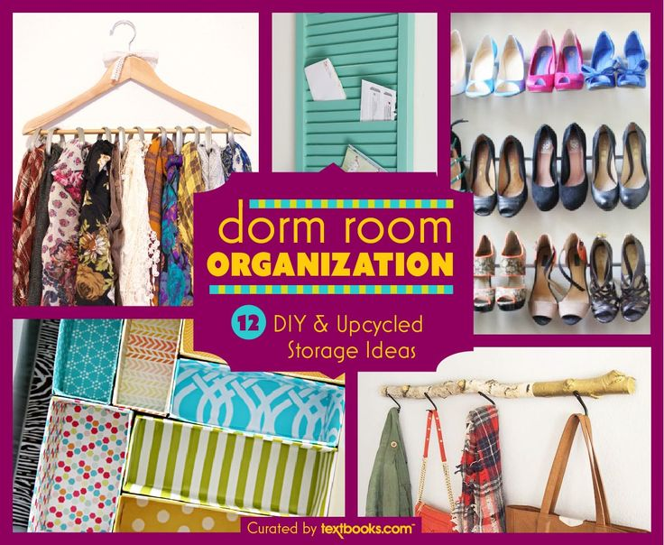 17 Best Images About Dorm Room Organization Diy On