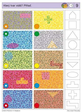 LOGICO PICCOLO | Vizuální vnímání | Oko a ruka - Skrývačky | Didaktické pomůcky a hračky - AMOSEK
