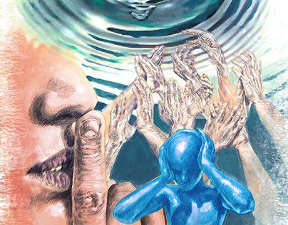 """Check out new work on my @Behance portfolio: """"Ilustração """"Ainda e sempre o silêncio"""""""" http://be.net/gallery/40626149/Ilustracao-Ainda-e-sempre-o-silencio"""