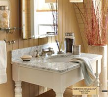 Choose A Paint Color For Your Bathroom Cupola Yellow Sherwin Williams Paint Colors Pinterest
