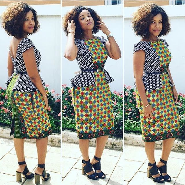 Check Out This Lovely Ankara Gown Style - http://www.dezangozone.com/2015/11/check-out-this-lovely-ankara-gown-style.html DeZango Fashion Zone