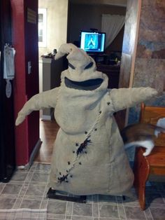 Oogie Boogie prop tutorial!!!!!!!!!!!!!!!! Where has this been all my life?!?!?!?!?!?!