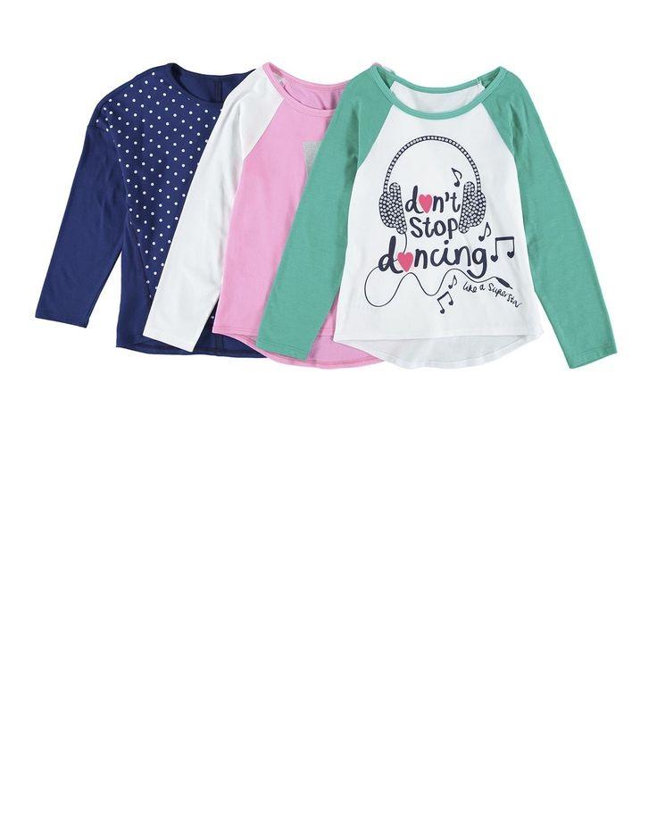 Cotton T-Shirts 3-pack
