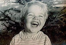Miguel Sousa Tavares, aos tres anos.