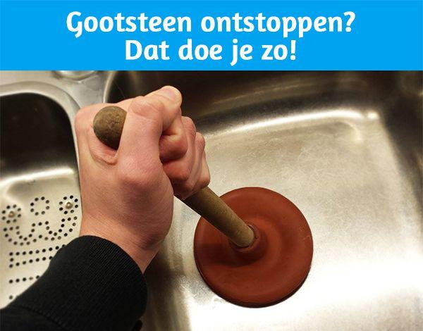 Oeps... Gootsteen verstopt.   Voor veel mensen een herkenbare situatie. Gelukkig is het vaak op een eenvoudige manier op te lossen. Lees nu onze blog met handige informatie over hoe je een gootsteen kunt ontstoppen!  http://www.badkamerxxl.nl/blog/gootsteen-ontstoppen-dat-doe-je-zo
